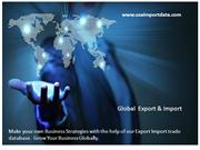 Export Import Data with Importers Name address & Exporters Name Addres