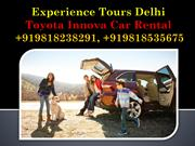 Innova Car Rental Delhi - Hire Innova Car in Delhi