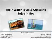 Top 7 Water Tours & Cruises to Enjoy