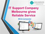 IT Support Company Melbourne gives Reliable Service