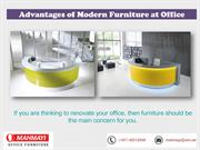 Renovate Your Office by Reception Desks and Chairs