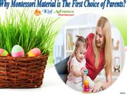 Why Montessori Material is The First Choice of Parents