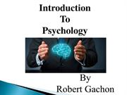 What Psychologist RobertGachon Do To Make Your Life Better
