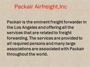Packair Is a Certified and Experienced Freight Forwarder