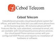 Cloud Based Phone System for Small Business