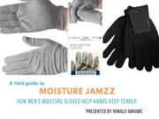 How Men's Moisture Gloves Help Hands Keep Tender