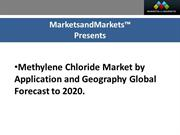 Methylene Chloride Market Value, By Chemical Processing Application, 2