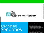 The Loan Walas - Loan Against Securities