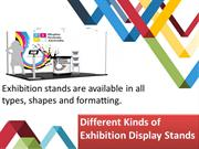 Different Kinds of Exhibition Display Stands