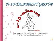 4Product Launching- N 10 Tainment Group