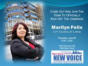 Elect Marilyn Felix for City Council