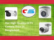 Our High Quality CCTV Camera Price in Bangladesh