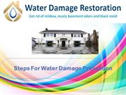 What To Do With Water Damage Prevention
