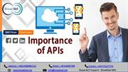 The Role and Importance of APIs for Mobile Network Operators