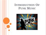 Introduction of Punk Music – Albert James Burleson