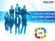 Reasons why you Need CRM software for your Business