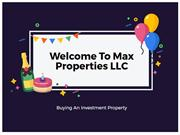 Turnkey Property Real Estate Investment
