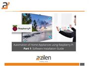 [Part-1] Automation of Home Appliances using Raspberry Pi – Software I