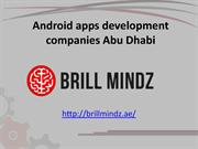 Android apps development companies in Abu Dhabi