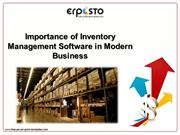 Importance of Inventory Management Software in Modern Business