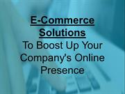 Researching the Best E-Commerce Solutions for Your Online Business
