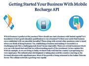 Mobile Recharge API Go Processing
