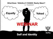 WEBINAR: Civil Identity - Who Are You? - Self and Identity