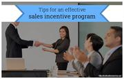 How to create an effective incentive program?