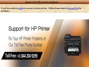 Contact 1-844-204-9299  hp support phone number