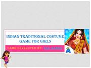 Indian Traditional Costume Game for Girls