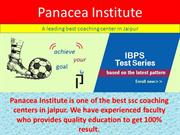 Get Excellent Bank Po Coaching in Jaipur By Panacea Institute