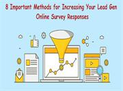 8 methods for impacting your lead gen via online poll responses
