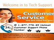 1-877-778-8969 Hotmail Customer Service Email Phone Number
