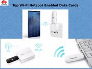 Top Wi-Fi Hotspot Enabled Data Cards