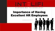 Importance of having Excellent HR Employees