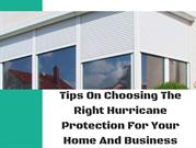 Best and Affordable Hurricane Protection Shutters In Florida