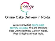 Online Cake Delivery in Noida