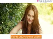How to Grow Your Hair Quickly - Hair and Beauty Canada