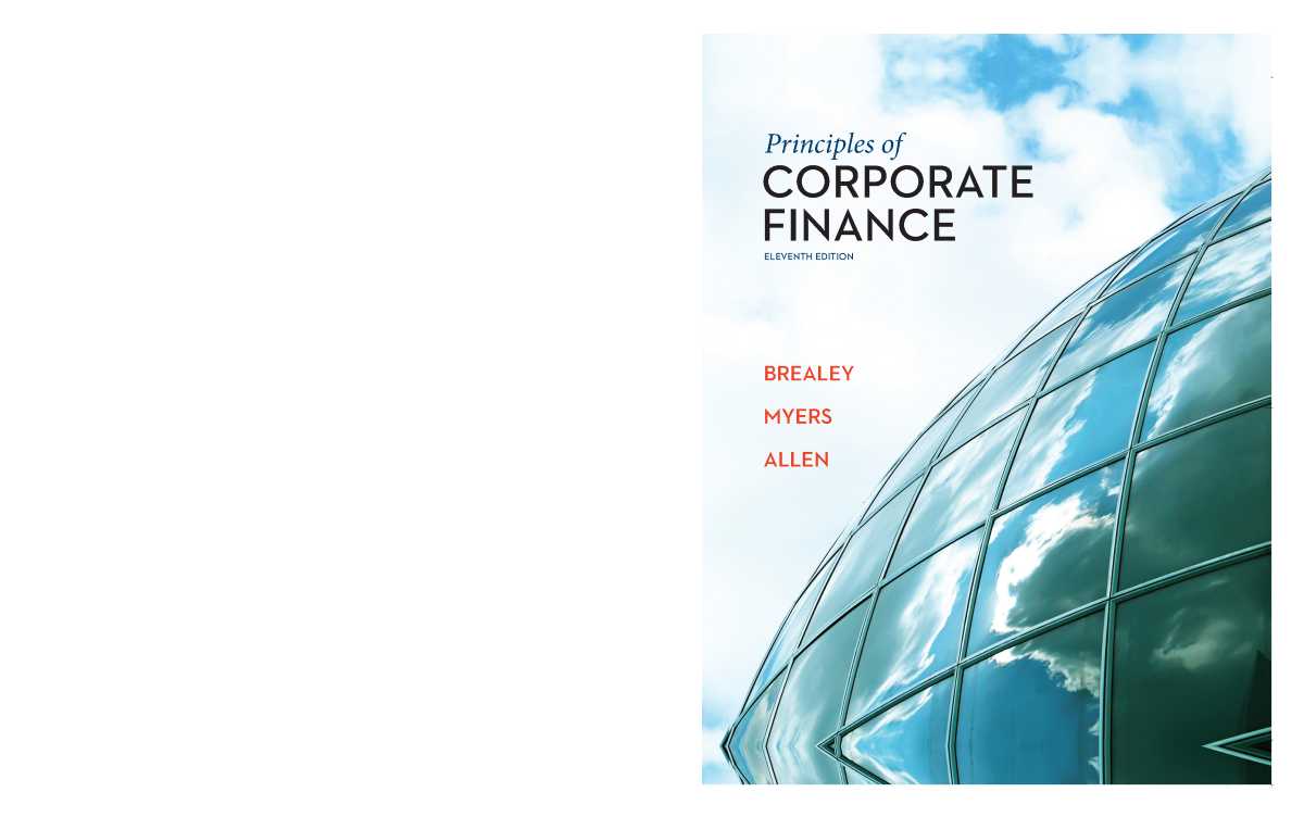principles of corporate finance 2 figure 1 corporate finance: first principles as you look at the chapter outline for the book, you are probably wondering where the chapters on present value, option pricing, and bond pricing are, as well as the.