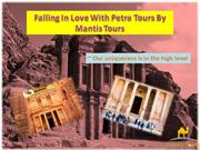 Falling In Love With Petra Tours By Mantis Tours