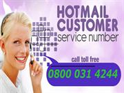 Hotmail Technical Support Number - 0800 031 4244