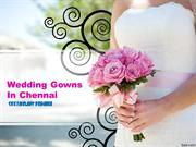 Christian Wedding Gowns And Party Gowns in Chennai