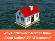 Why Homeowners Need to Know About National Flood Insurance