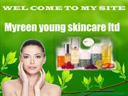 Natural organic skincare products