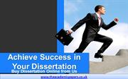 Achieve Success in Dissertation - Buy Dissertation Online from Us