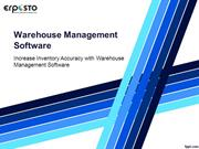 increase Data Accuracy with Warehouse Management Software