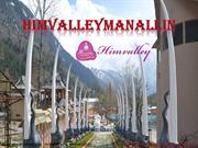 #Tourist place in manali