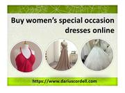 Buy wedding gown online in your budget from Darius Cordell