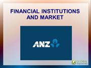 Financial Institutions and Market